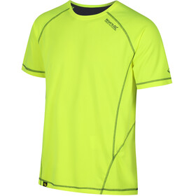 Regatta Virda II T-Shirt Men Fluro Yellow/Seal Grey